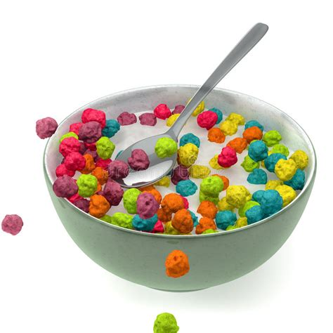 colorful cereal breakfast cereal stock images image 31159024