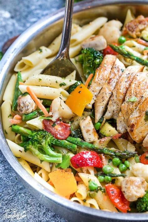 best pasta primavera recipe pasta primavera with or without chicken