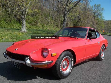 datsun sport car 1972 datsun 240z antique sports car orange coupe
