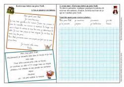 Exemple De Lettre Au Pere Noel Ce1 Ecrire Une Lettre Au P 232 Re No 235 L Ce1 L 233 Cole De Prune