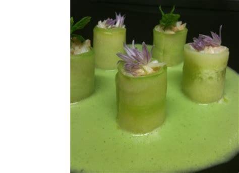 cuisiner araign馥 de mer recette maki de concombres et araign 233 e de mer soupe