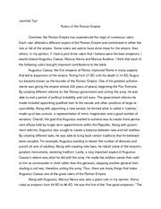 The Fall Of Rome Essay by Aclc 134 History Of Ancient Rome Suny Albany Page 1