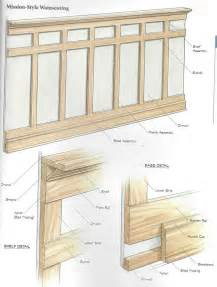 craftsman style interior trim craftsman wainscoting google search for the home