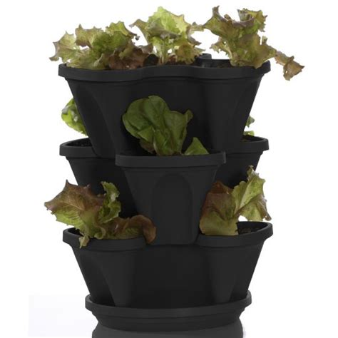 indoor herb planter garden stacker planter indoor culinary herb garden kit