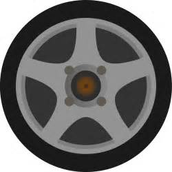 Truck Wheels Clipart Clipart Simple Car Wheel Tire Side View