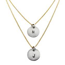 intial necklace collection of initial necklace trendy mods