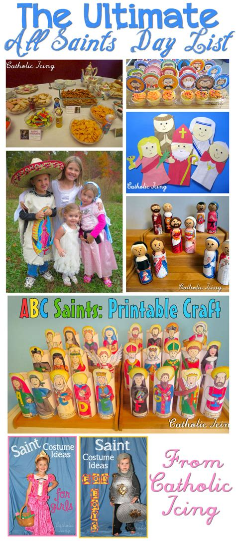 st s day all saints day ideas for