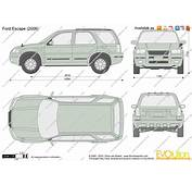 The Blueprintscom  Vector Drawing Ford Escape