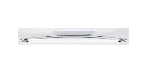contemporary fluorescent ceiling light in polished