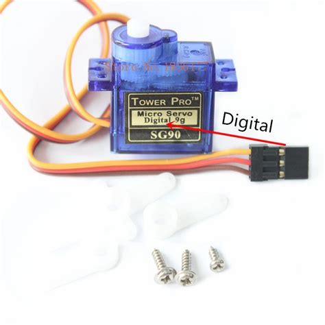 Tower Pro Micro Servo Sg90 9g 100pcs lot towerpro sg90 9g servo motor micro torque 1 8kg rc airplane arduino robot helicopter