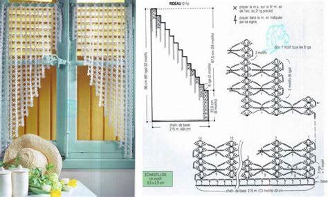 Modèles Rideaux Crochet Ancien impressionnant mod 232 les rideaux crochet an avec robes et