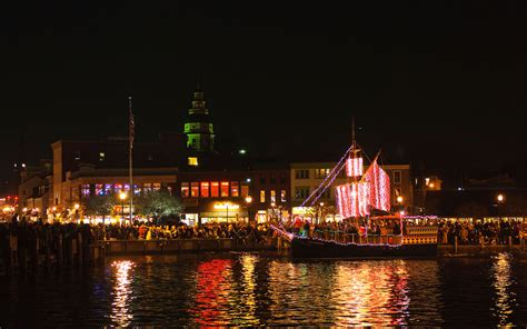 annapolis christmas lights america s best towns for the holidays travel leisure