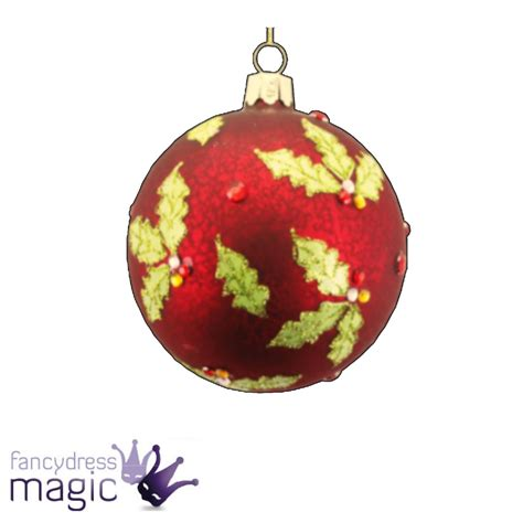 gisela graham glass bauble ball hanging christmas tree