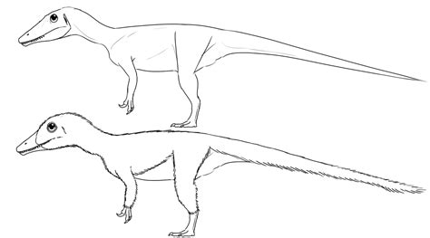 troodon coloring page