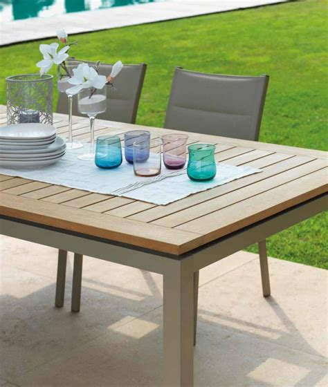 tavoli esterno allungabili tavolo timber allungabile di talenti per esterno