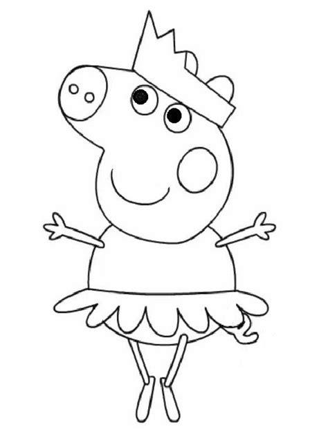 20 Desenhos da Peppa Pig para Colorir e Imprimir - Online
