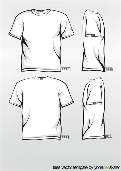 t shirt vector template by elegiyohanes on deviantart