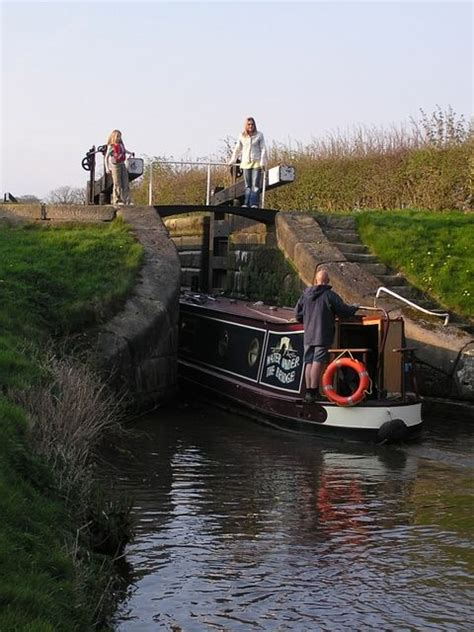 canal boat gps canal boat and lock i d love to go on one of these canal