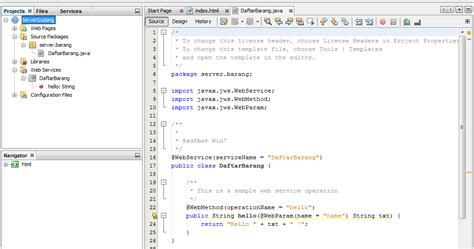 tutorial jax ws web service tutorial dan source code quot membuat delete dan update dengan