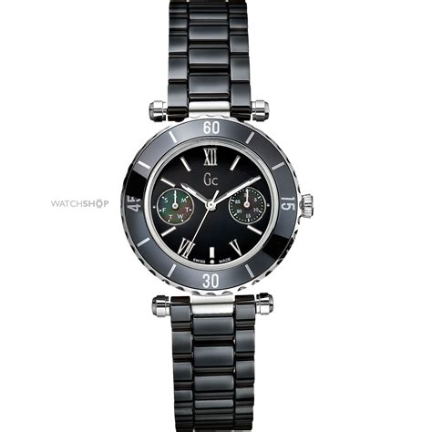 Gc Black Rosegold gc diver chic ceramic i35003l2 shop com