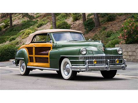 1948 Chrysler Town And Country by 1948 Chrysler Town And Country Convertible For Sale