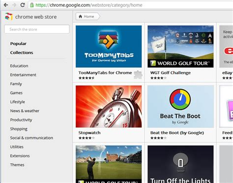 themes google chrome store chrome web store redesigned ghacks tech news