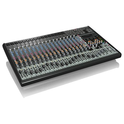 Mixer Eurodesk Sx2442fx behringer eurodesk sx2442fx 24 channel analog mixer at