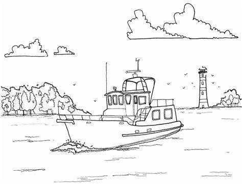 barcos para pintar niños free coloring pages of faro para colorear