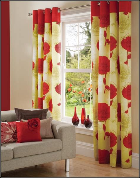 yellow and red curtains yellow and red kitchen curtains curtains home design