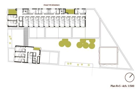 student accommodation floor plans gallery of school group and student housing atelier