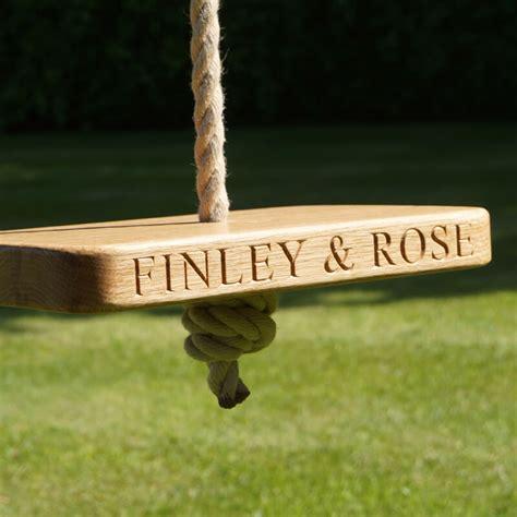 wooden monkey swing personalised wooden monkey swing buy from prezzybox com