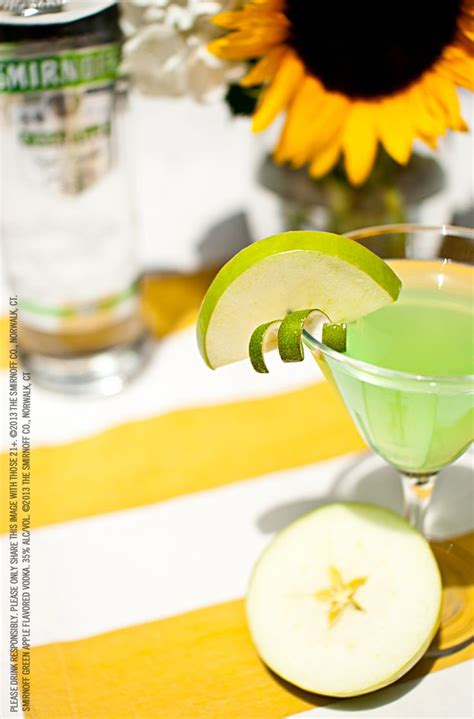 green apple martini bottle 17 best ideas about flavored vodka drinks on