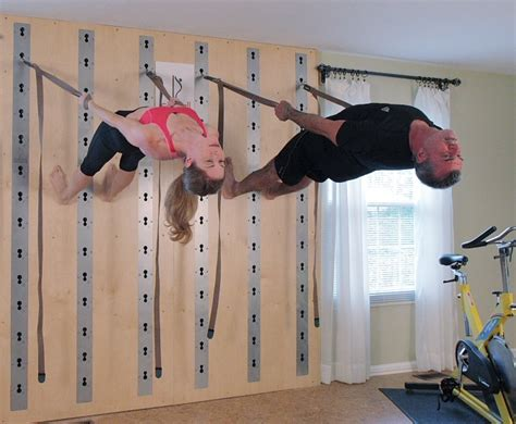 fitness wall for strength stability