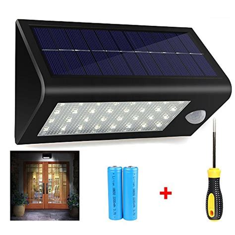 400lumens Max 32led Solar Lights Hallomall Waterproof Batteries For Solar Lights Outdoor
