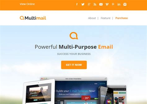 28 html5 responsive email template 25 free html5 email