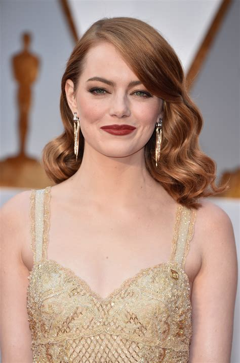 Oscars Hairstyles by Best Oscars Hairstyles And Makeup Looks 2017 Carpet