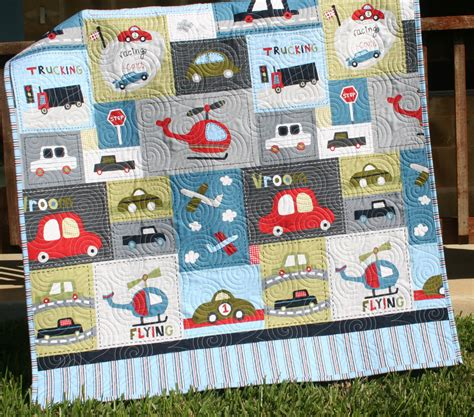 Quilt For Boy by Car Quilt Baby Boy Toddler Bedding Vehicles By