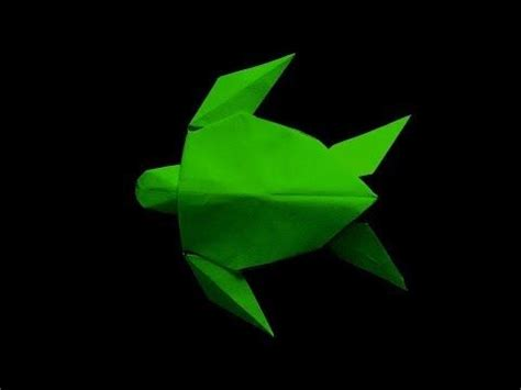 Origami Turtle Tutorial - easy step by step tutorial on how to make this origami sea