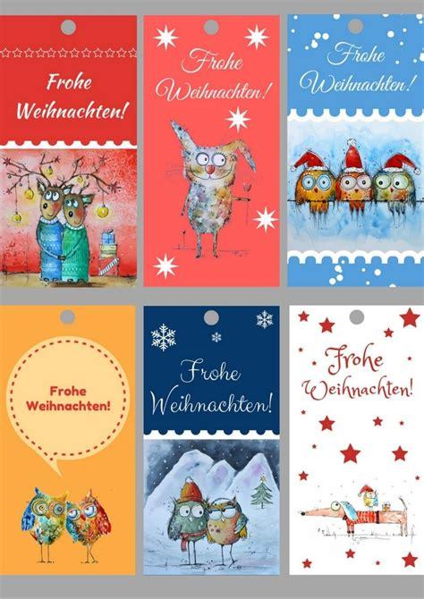 Weihnachtsgeschenke Anhänger Zum Ausdrucken by Geschenkanh 228 Nger Zum Ausdrucken F 252 R Weihnachten Hier