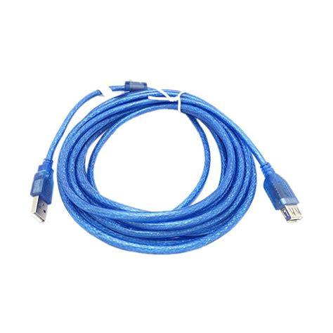 Kabel Usb Extension 5m jual nyk usb ver 2 0 kabel extension 5 m harga