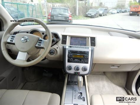 how make cars 2011 nissan murano navigation system 2006 nissan murano 3 5 gas system fully equipped leather navigation car photo and specs
