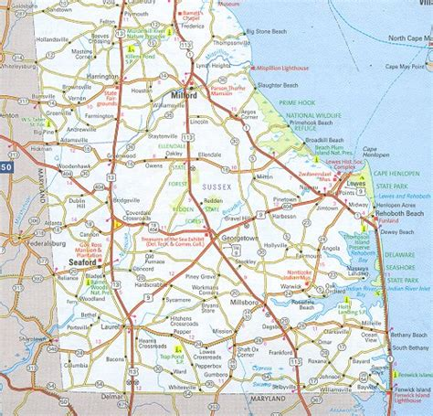 Sussex County Delaware Search Sussex County Map Delaware Delaware Hotels Motels Vacation Rentals Places To