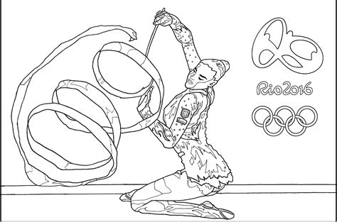 olympic coloring sheets olympic 2016