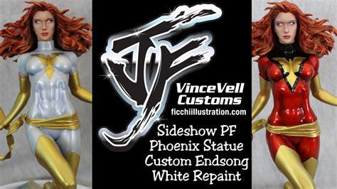 Statue Pf Sideshow Phonix Exc sideshow pf statue custom endsong white repaint
