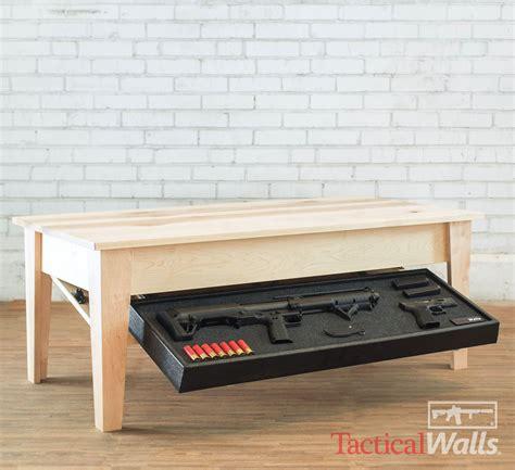 Coffee Table Gun Safe Tactical Walls Coffee Table