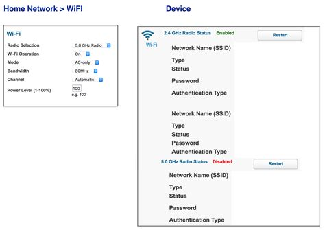 wifi selection at t community