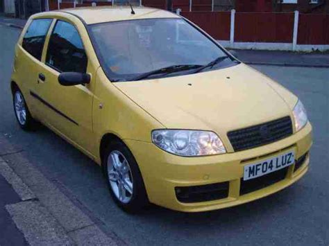 yellow fiat punto fiat 2004 punto active sport 8v yellow car for sale