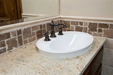 bathroom tile countertop ideas homework choosing bathroom countertops newsday