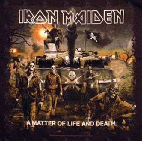 iron maiden a matter of and iron maiden black a matter of and t shirt