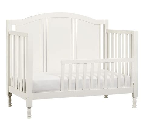 pottery barn toddler bed catalina toddler bed conversion kit pottery barn kids